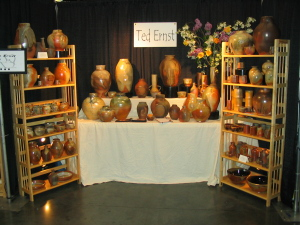 My booth at Showcase 2009