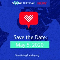 Join the #GivingTuesdayNow Movement on May 5, 2020