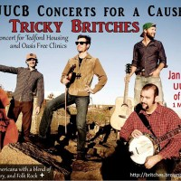 UUCB Concerts for a Cause Features Tricky Britches on January 11, 2020