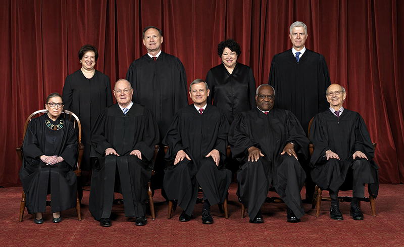 Prayer Guide for the Supreme Court of the United States of America