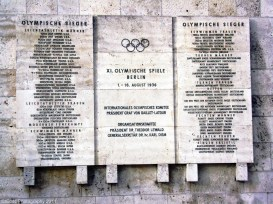 Berlin 1936 Olympic Winners