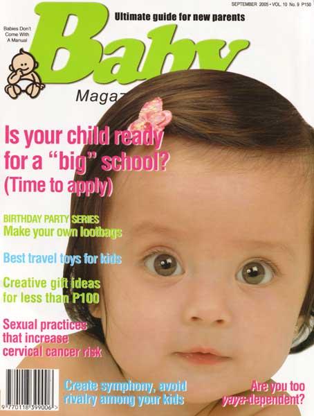 Baby Magazine, September 2005.