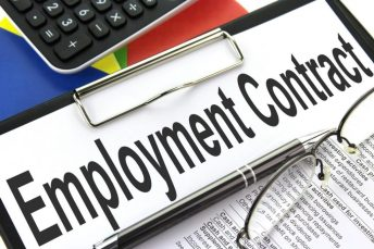frustration of employment contract