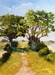 2. Alligator Alley (Plein Air/Oil) $900