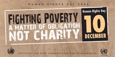 poverty is a violation of human rights