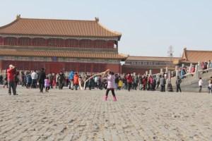 Forbidden City kid