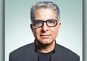 Alternative medicine and holistic health expert Deepak Chopra will speak about his new project — unrelated to his typical work — this week in Santa Barbara.