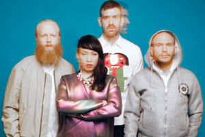 Little Dragon will headline the Lightning main stage Saturday night