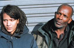 "Mati Diop, left, and Alex Descas, right, star in Claire Denis' ""35 Shots of Rum."""