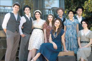 "The ""Swing!"" cast mixes students from SBCC and UCSB."