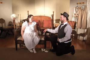 Lea Schultz and David Gaertig