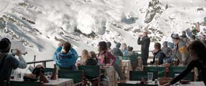 "A family on a ski vacation experiences a dangerous avalanche in ""Force Majeure."" Photo courtesy Magnolia Pictures"