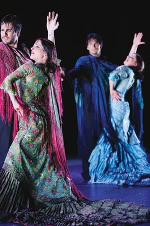 """Flamenco is part of everybody in Spain,"""" says organizer Vibiana Pizano. Paco Villalta photo"""