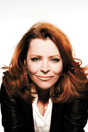 Comedian Kathleen Madigan moved to Los Angeles from Missouri with the goal of getting on the Tonight Show with Jay Leno. Since then she has been on the show nine times, and on the Late Show with David Letterman six times. Luzena Adams photo