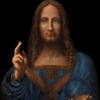 """Salvator Mundi, 2018"""
