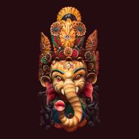 Ganesh Carving at Lynn and Dan's