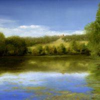 Afternoon on Olana Pond