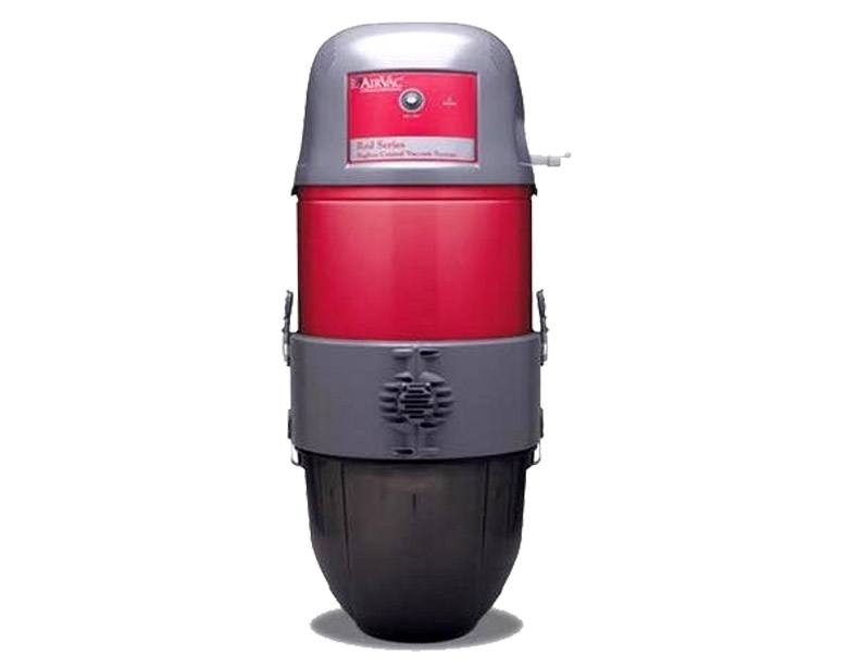 Airvac Central Vacuum red
