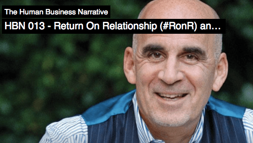 Return On Relationship (#RonR) and Humanization of Business ~via @Ivan_Temelkov