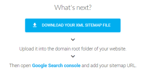 在 xml-sitemaps.com 製作sitemap-2