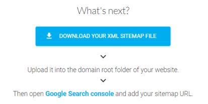 下載sitemap.xml檔案並上傳到/root