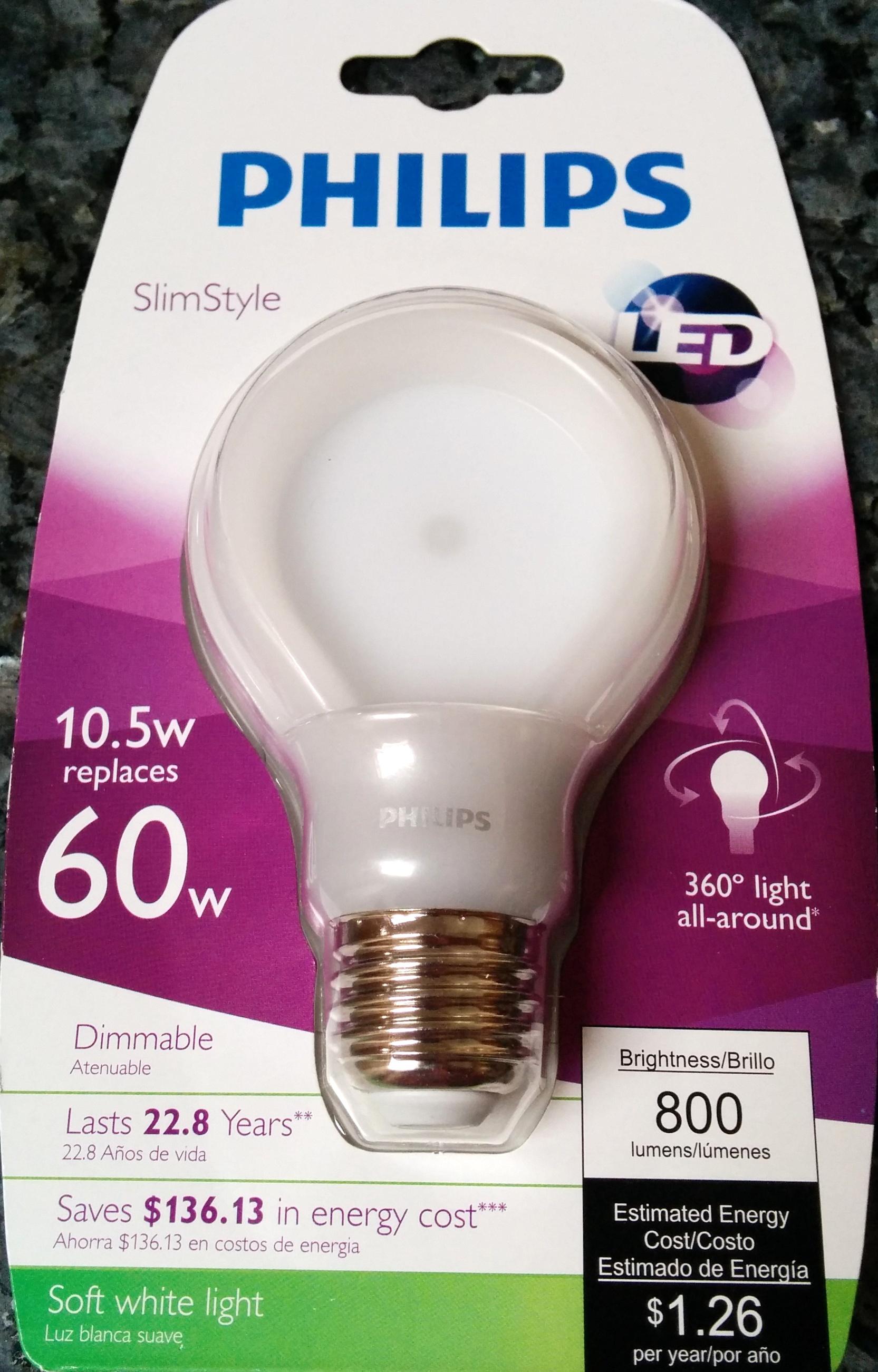 Philips 60w Led Bulb