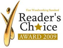 Teds Woodworking Reader's Choice Award