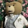 【作品紹介】「テッド2モフモフぬいぐるみ46cm」にオーダーメイドタキシードを作成