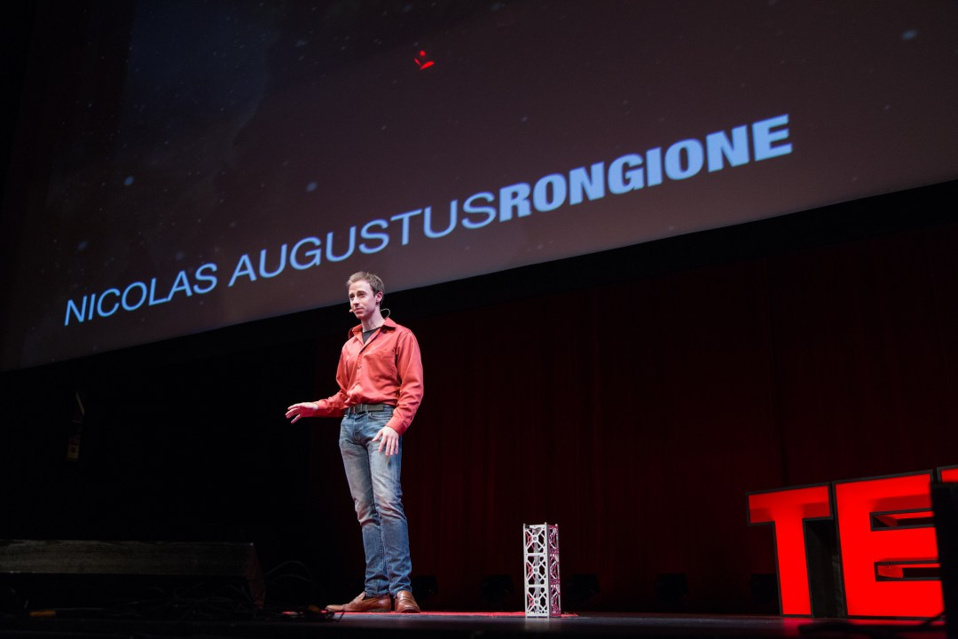 Big and Small: Where Space Meets Nanotechnology | Nicolas Augustus Rongione