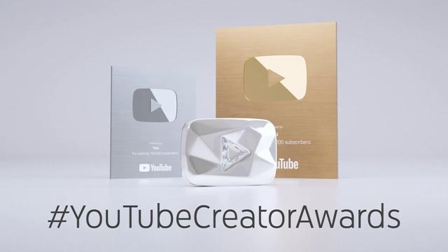 YouTubeの1000万人の盾のダイアモンドは本物なの?カラットのランクは?