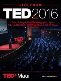 TEDxLive promotion poster