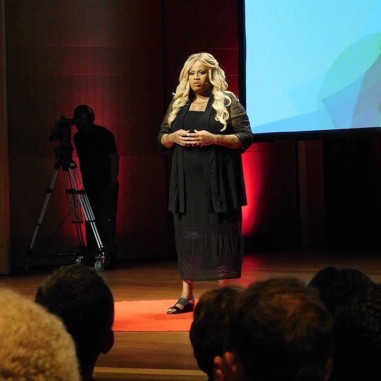 Ashlee Marie Preston, TEDxPasadena Transform