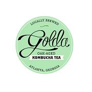 Golda Kombucha Tea Logo