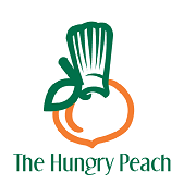 the Hungry peach cafe logo