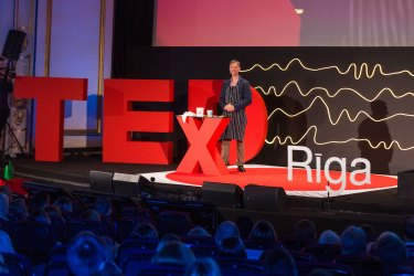 The microscopic order that defines our macroscopic world: Karlis Agris Gross at TEDxRiga
