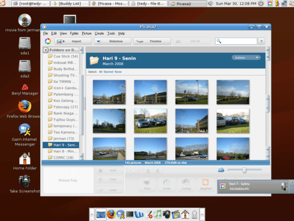 picasa on linux