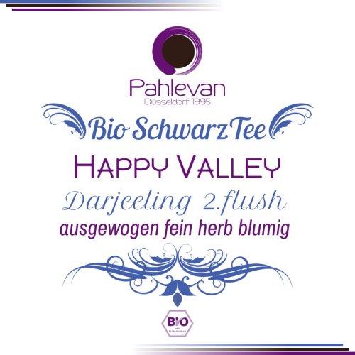Bio Schwarzer Tee Darjeeling Happy Valley | ausgewogen feinherb blumig von Tee Pahlevan
