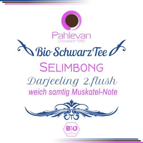 Bio Schwarzer Tee Darjeeling Selimbong second flush | weich samtig Muskatel-Note von Tee Pahlevan