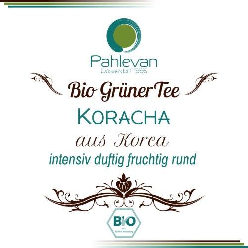 Bio Grüner Tee aus Korea, Koracha | intensiv duftig, fruchtig rund von Tee Pahlevan
