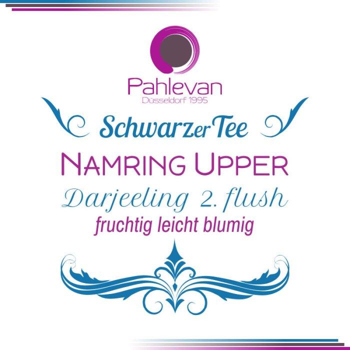Schwarzer Tee Darjeeling Namring Upper second flush | fruchtig leicht blumig von Tee Pahlevan