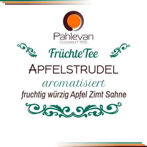 Früchtetee Apfelstrudel | fruchtig würzig mit Apfel, Zimt und Sahne Note von Tee Pahlevan