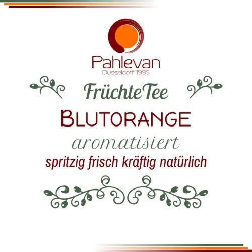 Früchtetee Blutorange | spritzig, frisch, kräftig mit natürlichem Orangen Aroma von Tee Pahlevan