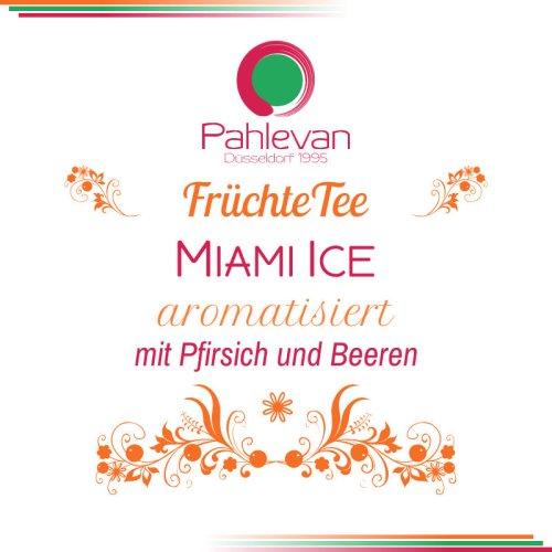 Früchtetee Miami Ice | fruchtig mit Pfirsich und Beeren Geschmack von Tee Pahlevan