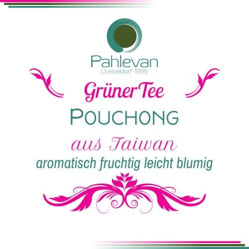 Grüner Tee aus Taiwan, Pouchog | aromatisch, fruchtig, leicht blumig von Tee Pahlevan