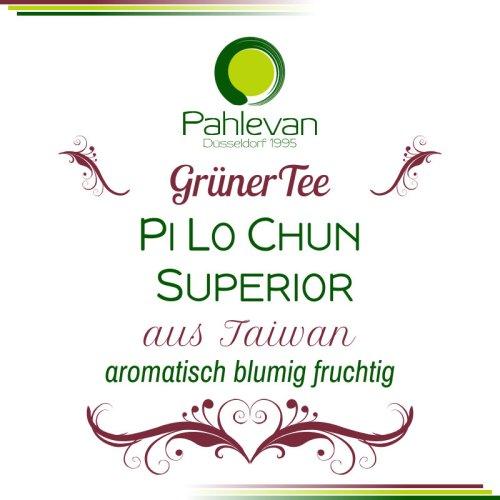 Grüner Tee aus Taiwan, Pi Lo Chun Superior | aromatisch, blumig, fruchtig von Tee Pahlevan