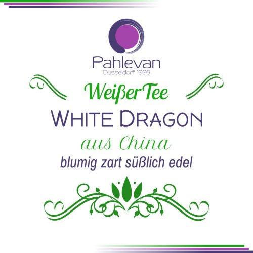 Weißer Tee aus China White Dragon   blumig, zart, süßlich, edel