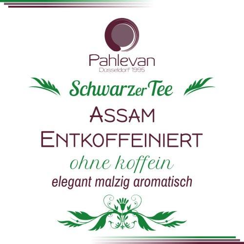 Schwarzer Tee Assam Entkoffeiniert | elegant malzig aromatisch von Tee Pahlevan