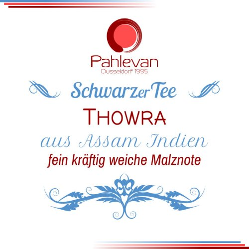 Schwarzer Tee Assam Thowra | fein kräftig weiche malznote von Tee Pahlevan