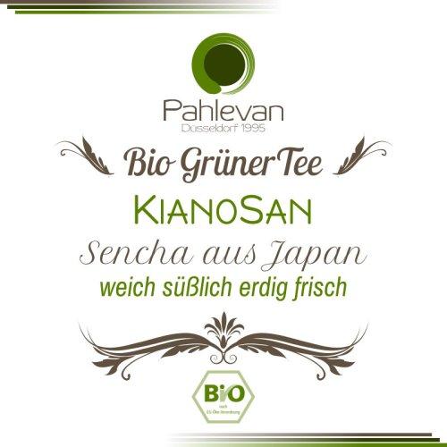 Bio Grüner Tee Kianosan | aus Japan weich süßlich erdig frisch von Tee Pahlevan