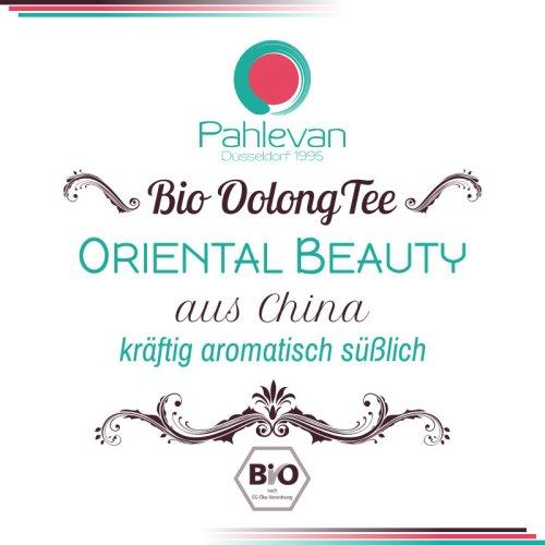 Bio Oolong Tee Oriental Beauty | kräftig aromatisch süßlich Rarität von Tee Pahlevan